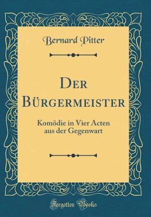 Bog, hardback Der Burgermeister af Bernard Pitter