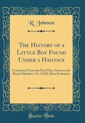 Bog, hardback The History of a Little Boy Found Under a Haycock af R. Johnson