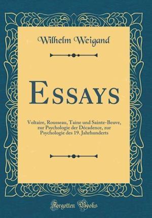 Bog, hardback Essays af Wilhelm Weigand