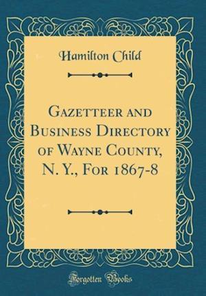 Bog, hardback Gazetteer and Business Directory of Wayne County, N. Y., for 1867-8 (Classic Reprint) af Hamilton Child