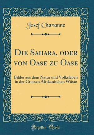 Bog, hardback Die Sahara, Oder Von Oase Zu Oase af Josef Chavanne