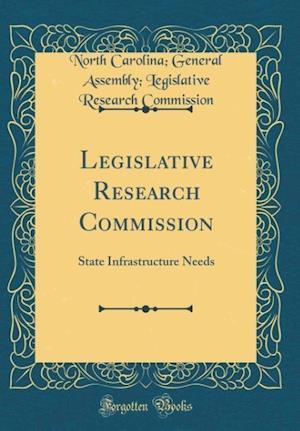 Bog, hardback Legislative Research Commission af North Carolina Commission