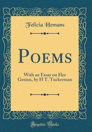 Bog, hardback Poems af Felicia Hemans