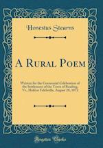 A Rural Poem af Honestus Stearns
