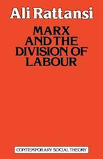 Marx and the Division of Labour (Contemporary Social Theory)