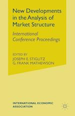 New Developments in Analysis of Market Structure (International Economic Association, nr. 77)
