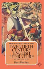 Twentieth-Century English Literature
