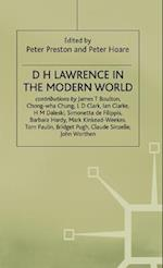D H Lawrence in the Modern World