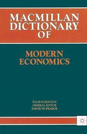 Dictionary Of Modern Economics