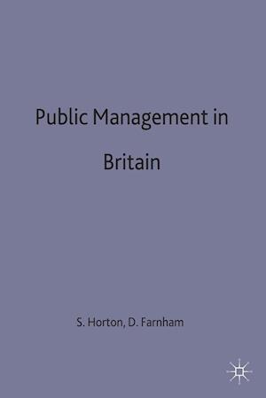 Public Management in Britain