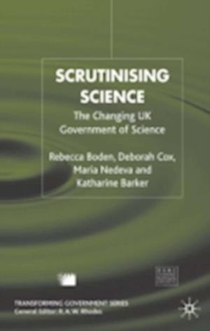 Scrutinising Science
