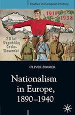 Nationalism in Europe, 1890-1940