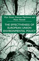 Effectiveness of European Union Environmental Policy