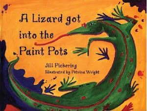 A Lizard Got into the Paint Pots
