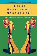 Local Government Management af Keen, Linda Keen, R. Scase