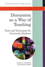 Discussion as a Way of Teaching (Society for Research into Higher Education)