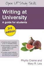 Writing at University: A Guide for Students (UK Higher Education Oup Humanities Social Sciences Study Skills)