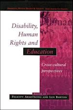 Disability, Human Rights And Education