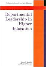 Departmental Leadership In Higher Education af Knight