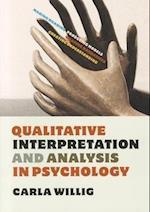 Qualitative Interpretation and Analysis in Psychology (UK Higher Education OUP Psychology)