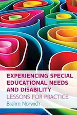 Experiencing Special Educational Needs and Disability: Lessons for Practice (UK Higher Education Humanities Social Sciences Education)