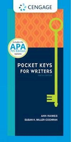 Pocket Keys for Writers, Spiral bound Version with APA 7e Updates