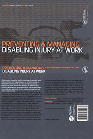 Preventing and Managing Disabling Injury at Work