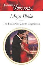 The Boss's Nine-Month Negotiation (HARLEQUIN PRESENTS, nr. 3516)