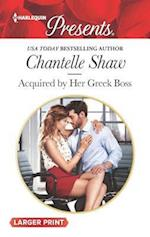 Acquired by Her Greek Boss (Harlequin Presents Large Print, nr. 3503)