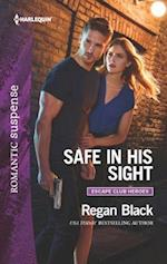 Safe in His Sight (Harlequin Romantic Suspense, nr. 1)