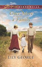 Once More a Family (Love Inspired Historical)