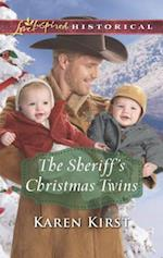 The Sheriff's Christmas Twins (Love Inspired Historical)
