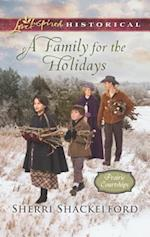 A Family for the Holidays (Love Inspired Historical)