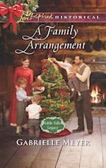 A Family Arrangement (Love Inspired Historical)