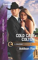 Cold Case Colton (Harlequin Romantic Suspense)