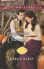 The Engagement Charade (Love Inspired Historical)