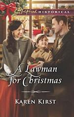 A Lawman for Christmas (Love Inspired Historical)