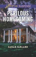 Perilous Homecoming (Love Inspired Suspense)
