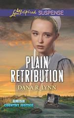 Plain Retribution (Love Inspired Suspense)