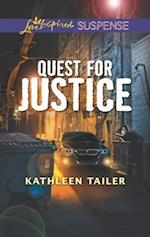Quest for Justice (Love Inspired Suspense)