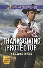 Thanksgiving Protector (Love Inspired Suspense)