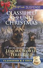 Classified K-9 Unit Christmas (Love Inspired Suspense)