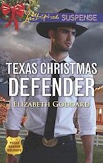 Texas Christmas Defender (Love Inspired Suspense)