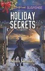 Holiday Secrets (Love Inspired Suspense)