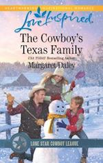 The Cowboy's Texas Family (Love Inspired, nr. 4)