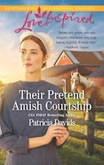 Their Pretend Amish Courtship (Love Inspired)