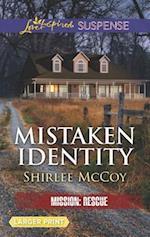 Mistaken Identity (Love Inspired Suspense (Large Print))