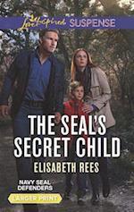 The Seal's Secret Child (Love Inspired Suspense (Large Print))