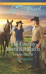 The Cowboy Meets His Match (Love Inspired)