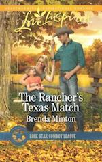 The Rancher's Texas Match (Love Inspired, nr. 1)